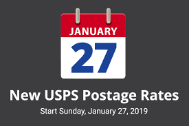 January 2019 Shipping Rate Changes for USPS, FedEx, and